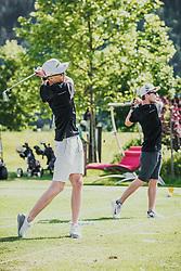 05.06.2019, Golfclub Zillertal, Uderns, AUT, Skijumpers Golf Trophy, im Bild Michael Hayboeck (AUT), Markus Schiffner (AUT) // during the Skijumpers Golf Trophy at the Golfclub Zillertal, Uderns, Austria on 2019/06/05. EXPA Pictures © 2019, PhotoCredit: EXPA/Stefanie Oberhauser