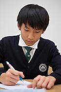 Student Na dan Jo. Shinil High School, Seoul, South Korea.