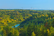 Reclaimed land. Hydro Dam Road. Near Coniston.<br />Greater Sudbury<br />Ontario<br />Canada