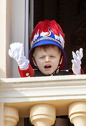 November 19, 2019, Monaco, Monaco: 19-11-2019 Monte Carlo Prince Jacques on the balcony during the Monaco national day celebrations in Monaco. (Credit Image: © face to face via ZUMA Press)
