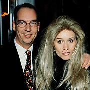 Nieuwjaarsreceptie Strengholt 1997, Peter Teekamp + vrouw
