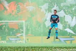 25-02-2017 NED: Feyenoord - PSV, Rotterdam<br /> 24e speelronde van seizoen 2016-2017, De Kuip / Luuk de Jong of PSV of PSV - Rook, sfeer