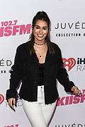 Ashley Laconetti at iHeartRadio KIIS FM Wango Tango at the Dignity Health Sports Park.