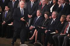 Bush casket arrives at The White House - 03 Dec 2018