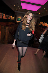 JEMIMA KHAN at fundraising dinner and auction in aid of Liver Good Life a charity for people with Hepatitis held at Christies, King Street, London on 16th September 2009.
