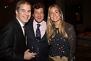 ANDY ROSEN; ANTONIO ANAVA; SUSANNA GARCIA ESPINEL; , Action Against Cancer 'A Voyage of Discovery' fundraising dinner at the Science Museum on Wednesday 14 October 2015.