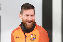 November 21, 2017 - Turin, Piedmont, Italy - Lionel Messi (FC Barcelona) during FC Barcelona training session on the eve of the UEFA Champions League (Group D) match between Juventus FC and FC Barcelona at Allianz Stadium on 21 November, 2017 in Turin, Italy. (Credit Image: © Massimiliano Ferraro/NurPhoto via ZUMA Press)