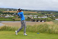 Andrew McCormack (Castletroy) on the 9th tee during Matchplay Round 1 of the South of Ireland Amateur Open Championship at LaHinch Golf Club on Friday 22nd July 2016.<br /> Picture:  Golffile | Thos Caffrey<br /> <br /> All photos usage must carry mandatory copyright credit   (© Golffile | Thos Caffrey)