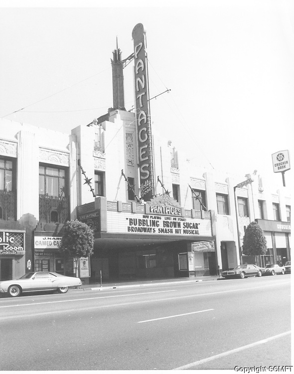 1977 The Pantages Theater