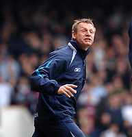 Photo: Daniel Hambury.<br />West Ham United v Manchester City. The Barclays Premiership. 15/04/2006.<br />City's manager Stuart Pearce, shouting.