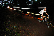 Night riding on a mountain bike is a popular pastime and adds to the mtb experience