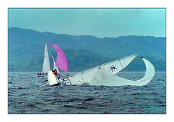Historic Scottish Series Images<br /> <br /> First Class 8 Knockdown<br /> <br /> Picture Copyright  PFM Pictures