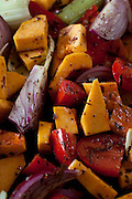 May0042392 . Daily Telegraph..DT Weekend..Stevie Parle page..Squash and Tomatoe Soup...London 25 September 2012
