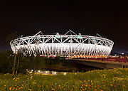The 80.000 seater Olympic Stadium in Stratford East London is the centre piece of the Olympic Park. The 2012 summer Olympics will be held here from the 27th of July.<br /> <br /> Architect: Peter Cook, Populous