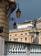 Architecture in downtown San Sebastian, Spain