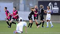 Fotball<br /> UEFA European Women's Under-19 Championships<br /> Group B<br /> Mjøndalen 18.07.2014<br /> Irland v England 2:1<br /> Foto: Morten Olsen, Digitalsport<br /> <br /> Post match celebration Ireland<br /> Chloe Mustaki (6)<br /> Megan Connolly (9)<br /> Ciara Mcnamara (12)<br /> Jessica Gargan (17)