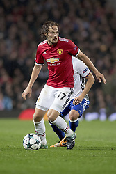 September 12, 2017 - Manchester, England - Manchester, Fussball UEFA Champions League, Manchester United - FC Basel. 12.9. 2017. Uniteds Daely Blind. (Credit Image: © Daniel Teuscher/EQ Images via ZUMA Press)
