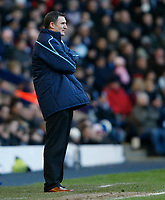 Photo: Steve Bond/Richard Lane Photography. West Bromwich Albion v Newcastle United. Barclays Premiership. 07/02/2009. Tony Mowbray looks on as West Brom go 3-1 down