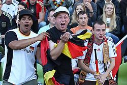 23.06.2010, Olympiapark, Muenchen, GER, FIFA Worldcup, Puplic Viewing Ghana vs Deutschland  im Bildfans feiern , EXPA Pictures © 2010, PhotoCredit: EXPA/ nph/  Straubmeier / SPORTIDA PHOTO AGENCY