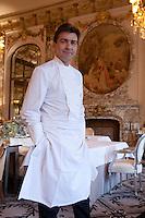 Chef Yannick Allleno - Three Michelin stars - Hotel le Meurice, Paris.
