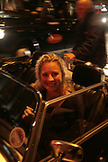 Holly Branson going to Mahiki in a Morgan, The Essential Party Guide Evening of Golden Glamour. The Ballroom, Mandarin oriental, Hyde Park. 27 March 2007. -DO NOT ARCHIVE-© Copyright Photograph by Dafydd Jones. 248 Clapham Rd. London SW9 0PZ. Tel 0207 820 0771. www.dafjones.com.