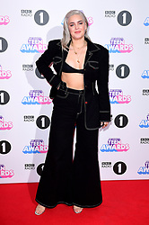 Anne-Marie attending BBC Radio 1's Teen Awards, at the SSE Arena, Wembley, London