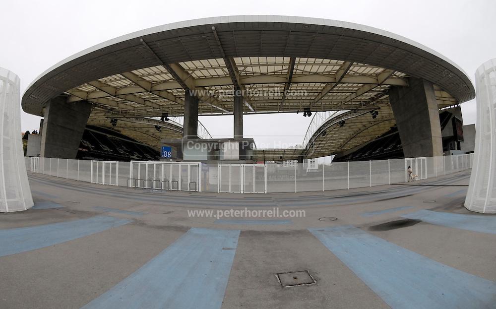Images from a visit to FC Porto's Estádio do Dragão stadium.