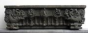 7th century lintel in the style of Sambor Prei Kuk (600-650). Cambodia, Prasat Sambor Prei Kuk  (Buddhist sanctuary)