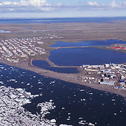 Alaska, City of Barrow, the furthest point in the United States.