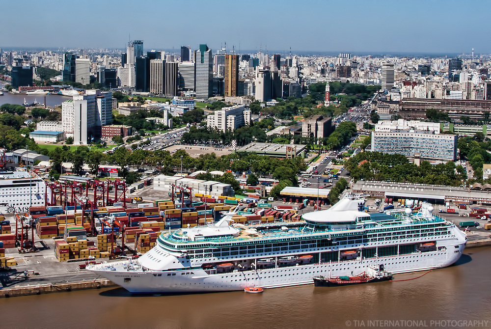 Port & City of Buenos Aires