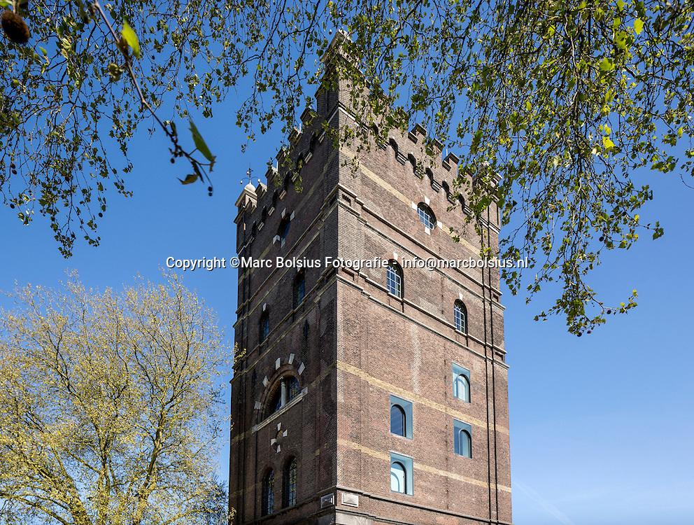 Nederland,  Den Bosch, De Ondernemer, de watertoren aan het Hinthamereinde