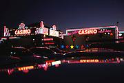 Indian owned San Felipe Casino. Near Santa Fe, New Mexico, USA.