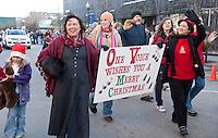 Laconia Holiday Parade 2010 followed by the Santa Train November 28, 2010.