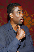 Chris Rock at An evening with Dave Chappelle for Kevin Powell for Congress held at Eugene's on July 9, 2008..Kevin Powell runs as a Democratic Candidate for Congress in Brooklyn's 10th Congressional District