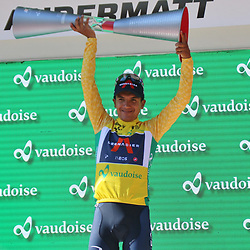 ANDERMATT (SUI) JUNE 13 <br /> Richard Carapaz (Ecuador / Team Ineos) at Tour de Suisse 2021  (Photo: Sportfoto/Orange Pictures)