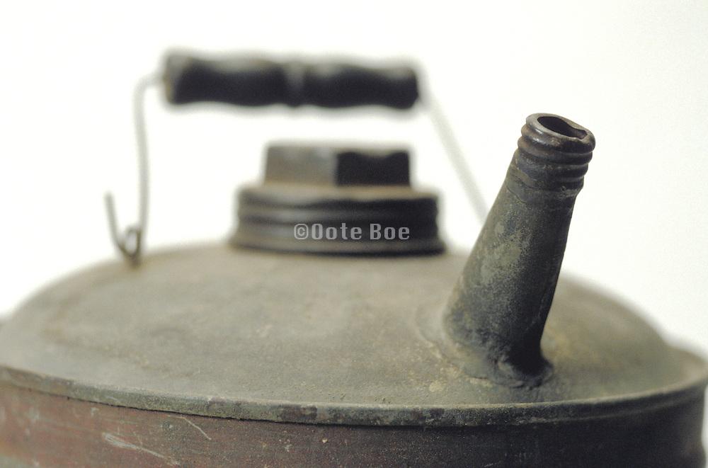 close up of antique tea pot