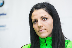 Sasa Babsek during press conference of Slovenian Team for European Indoor Athletics Championships Prague 2015, on March 4, 2015 in Ljubljana, Slovenia. Photo by Vid Ponikvar / Sportida