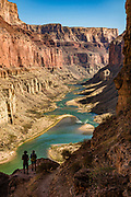 View down Marble Canyon from Nankoweap Granaries Trail at Colorado River Mile 53.4. This image is from Day 3 of 16 days rafting 226 miles down the Colorado River in Grand Canyon National Park, Arizona, USA.