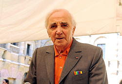 October 1, 2018.French singer and songwriter Charles Aznavour dies at 88 .File dated 2011 (Credit Image: © Maule/Fotogramma/Ropi via ZUMA Press)