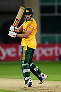 Joe Clarke of Nottinghamshire during the Vitality T20 Blast North Group match between Nottinghamshire County Cricket Club and Leicestershire County Cricket Club at Trent Bridge, Nottingham, United Kingdom on 4 September 2020.
