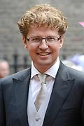 Prinsjesdag 2013 - Aankomst Parlementariërs bij de Ridderzaal op het Binnenhof.<br /> <br /> Op de foto: Sander Dekker - Staatssecretaris van Onderwijs, Cultuur en Wetenschap