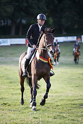 De Cleene Wouter, (BEL), AC's Donna Carrera<br /> BK 6 Years old Horses<br /> CNC Nokere 2015<br /> © Hippo Foto - Dirk Caremans<br /> 02/08/15