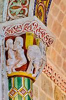 France, Pyrénées-Atlantiques (64), pays basque, Haute-Soule, Sainte-Engrâce, Église romane de Santa Grazi du XIe siècles, sur le chemin de Saint-Jacques de Compostelle // France, Pyrénées-Atlantiques (64), Basque country, Haute-Soule, Sainte-Engrâce, Romanesque Church of Santa Grazi from the 11th century, on the way to Saint-Jacques de Compostelle