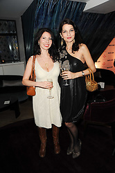 Left to right, CHLOE BAIRD-MURRAY and YASMIN MILLS at a party to promote Marie Claire magazine Inspire & Mentor Campaign held at The Loft, The Ivy Club, West Street, London on 30th March 2010.