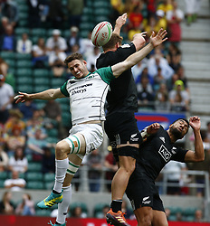 May 26, 2019 - Twickenham, England, United Kingdom - Jack Kelly of Ireland .during The HSBC World Rugby Sevens Series 2019 London 7s 5th Place Play-Off Match 43 between New Zealand and Ireland at Twickenham on 26 May 2019. (Credit Image: © Action Foto Sport/NurPhoto via ZUMA Press)