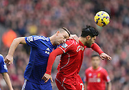 John Terry of Chelsea challenges Emre Can of Liverpool - Barclays Premier League - Liverpool vs Chelsea - Anfield Stadium - Liverpool - England - 8th November 2014  - Picture Simon Bellis/Sportimage
