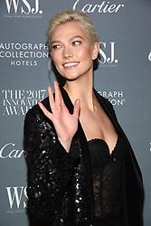 Model Karlie Kloss attends the WSJ. Magazine 2017 Innovator Awards at MOMA in New York, NY, on November 1, 2017. (Photo by Anthony Behar/Sipa USA)