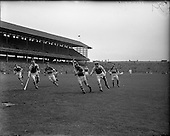 1956 National Hurling League Final Kerry v Antrim and Wexford v Tipperary