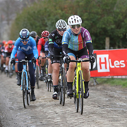 03-03-2020: Wielrennen: GP Le Samyn: vrouwen: Dour: Sarah Penton