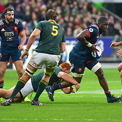 Judicael Cancoriet of France during the test match between France and South Africa at Stade de France on November 18, 2017 in Paris, France. (Photo by Dave Winter/Icon Sport)